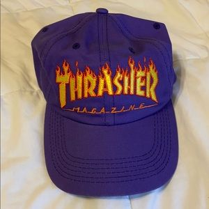 Thrasher PURPLE HAT (NEW W/o tags)